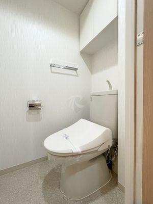 神保町駅最寄りのリーガルタワー神保町2階トイレ
